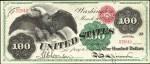 Values of $100 1863 Legal Tenders
