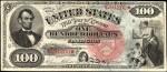 Values of $100 1869 Legal Tenders
