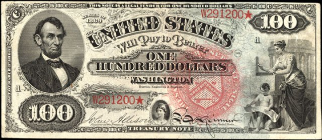 How Much Is An 1869 100 Bill Worth Sell 1869 Legal Tender Antique Money