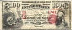Values of $100 1875 National Gold Bank Notes