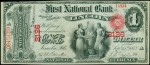 Value of One Dollar National Bank Notes
