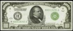 Price Guide for $1,000 1928 Federal Reserve Notes