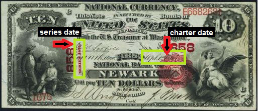 How Much Is A 1876 $10 Bill Worth?