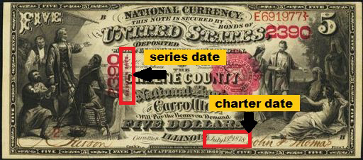 How Much Is A 1874 $5 Bill Worth?